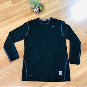 Nike Pro Combat dri-fit fitted men's long sleeve S